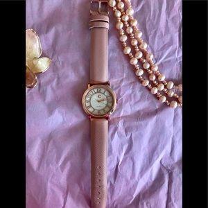 Charming Charlie Rose Gold & Pink Quartz Watch